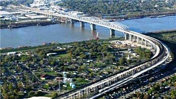 The Huey P. Long Bridge