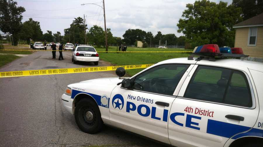 New Orleans police began investigating a homicide in the 1800 block of Shirley Drive Tuesday afternoon.