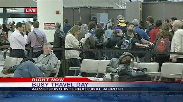 Millions will travel by land, water and air Wednesday as part of the busiest travel day of the year.