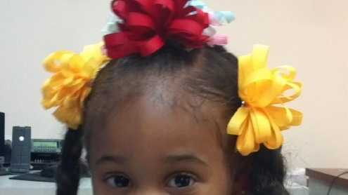 A young girl was found early Saturday morning near the intersection of Franklin Avenue and Abundance Street.