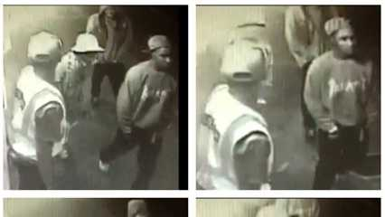 "Police released these surveillance video images of a man wanted in the attack of WWL radio host Scott ""Scoot"" Paisant."