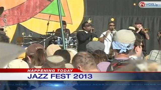 Two weekends of food, fun, culture and music kicks off at the New Orleans Fair Grounds Friday for the 2013 New Orleans Jazz and Heritage Festival