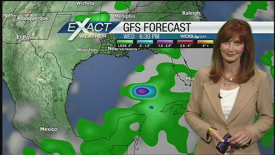 WDSU Exact Weather Meteorologist Margaret Orr has your tropical weather update with the latest on Barbara, and there is a possibility of a development in the Gulf of Mexico next week.