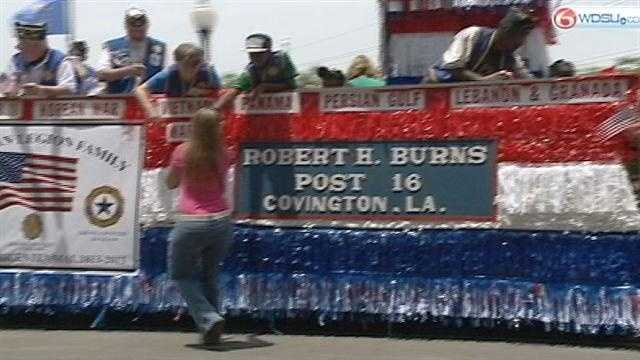 The town marked its bicentennial with a parade to celebrate the past, present and future.