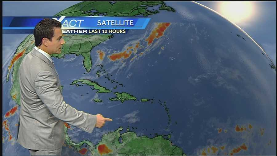 Here's the latest on the tropics from WDSU Exact Weather Meteorologist Jay Gallé.