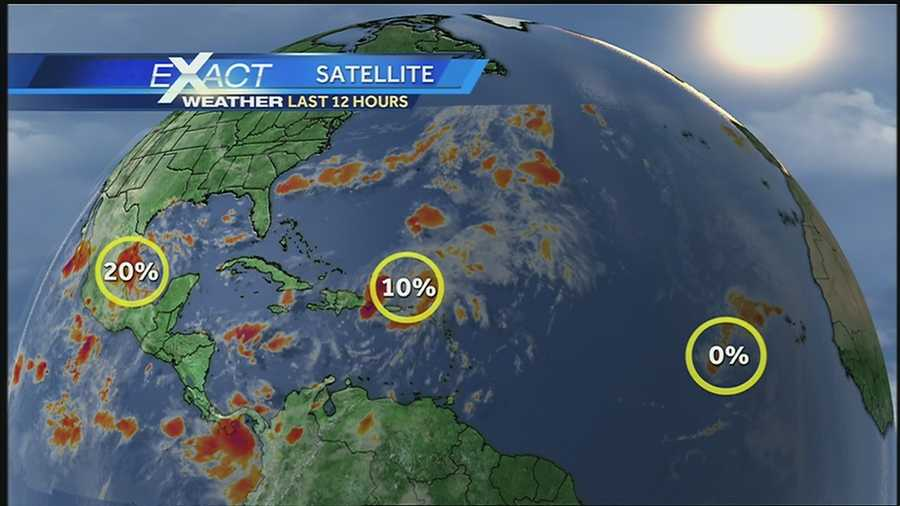 WDSU Exact Weather meteorologist Jay Gallé has the latest on the tropics, which are becoming active approaching the height of hurricane season.