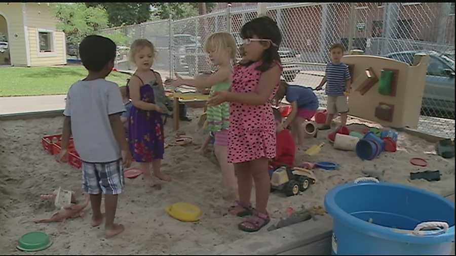 Some local companies are offering in-house daycare options for working parents.