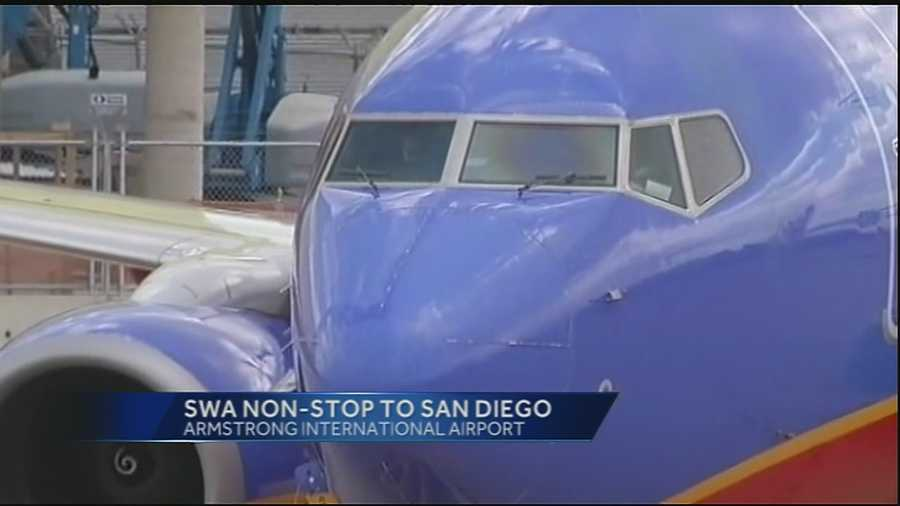 Southwest Airlines will soon be offering nonstop flights to San Diego out of Louis Armstrong International Airport.