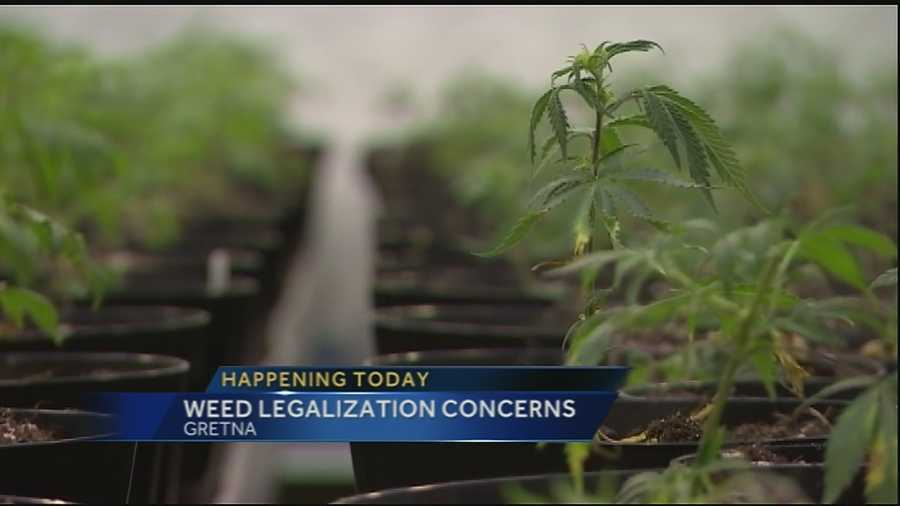Louisiana lawmakers are considering marijuana legalization. It's led a group of concerned parents and citizens in the Jefferson Parish community to organize a discussion about the impact of marijuana legalization in the community.