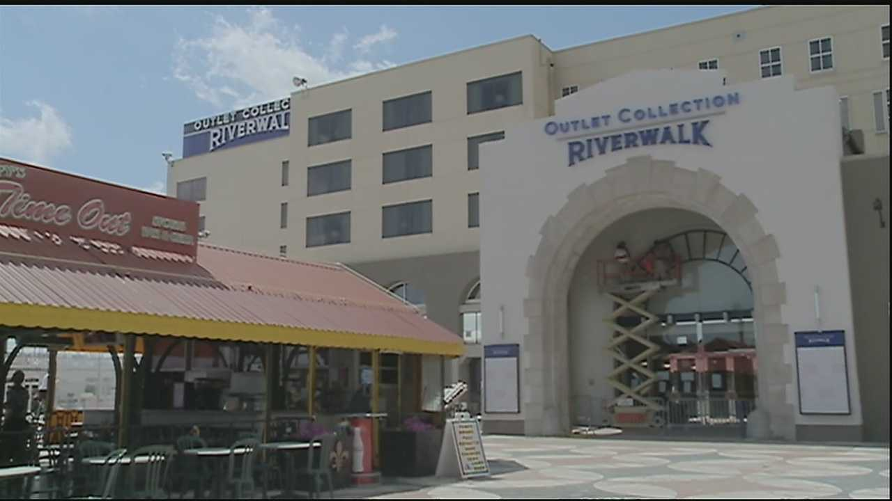 We're just days away from the Riverwalk Outlet mall opening downtown