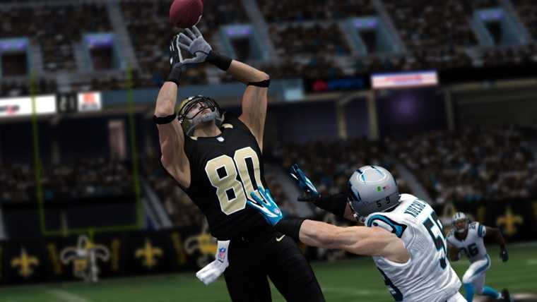 Jimmy Graham as seen in Madden NFL video game.