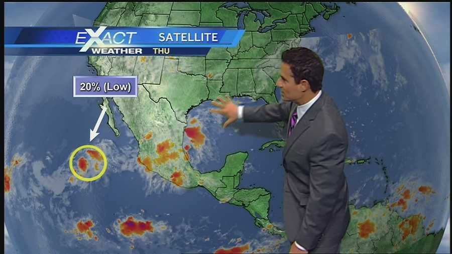 WDSU Exact Weather meteorologist Jay Gallé has the latest developments in the tropics.
