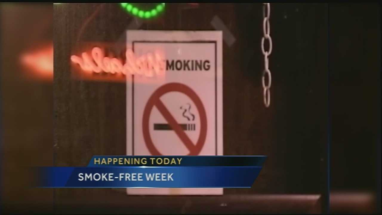Smoke-Free Week in New Orleans to promote the benefits of smoke-free environments. Organizers want to highlight the problems with secondhand smoke exposure, particularly for those who work in bars around the city.