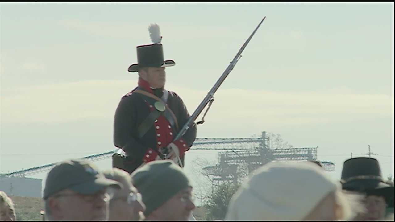 With somber battlefield ceremonies to fireworks over the Mississippi River, the bicentennial of the victory over the British at the Battle of New Orleans is being celebrated on a cold Jan. 8 just like it was 200 years ago. British and American fighters faced off in a decisive battle in the western expansion of the United States of America.