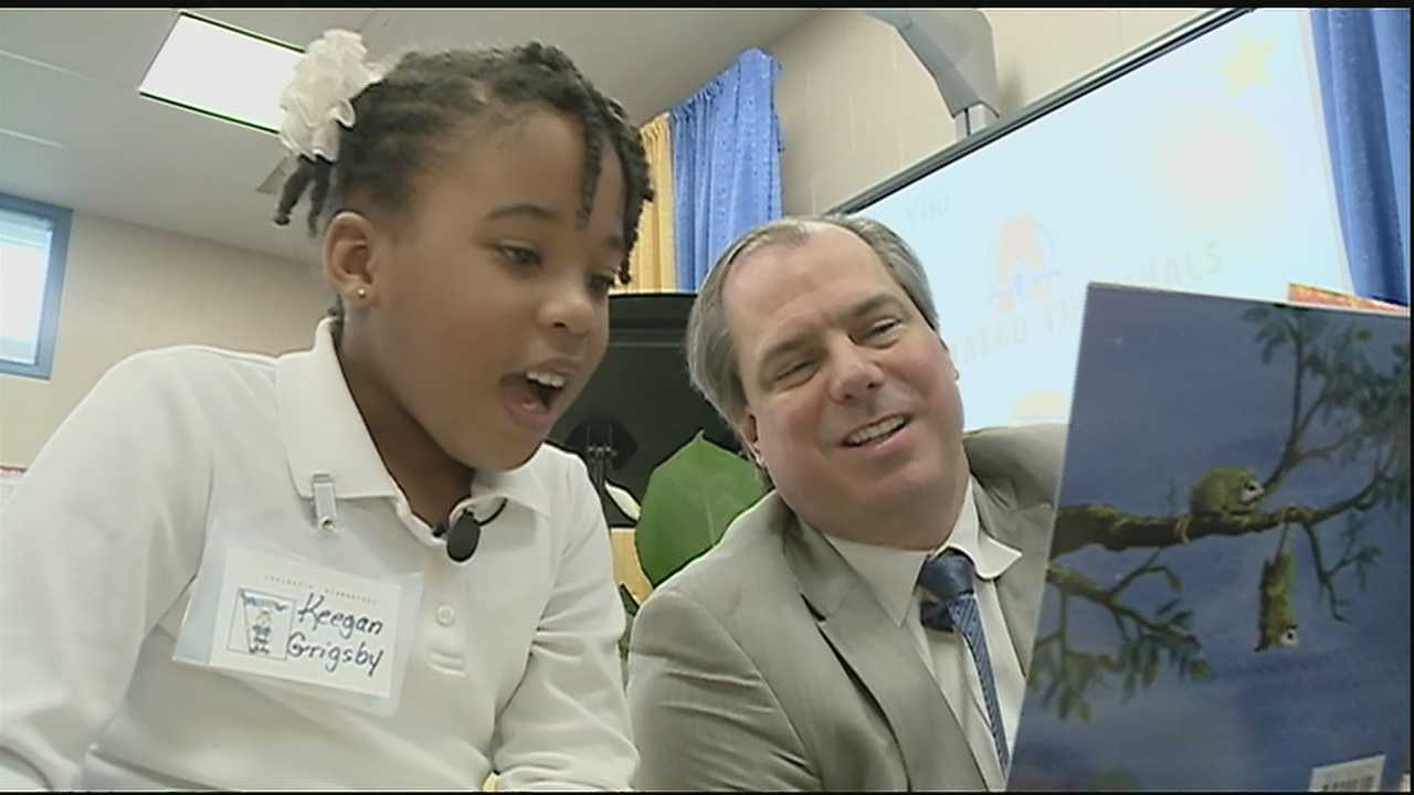 A national literacy program called Club Connect was launched at Chalmette Elementary School Tuesday.