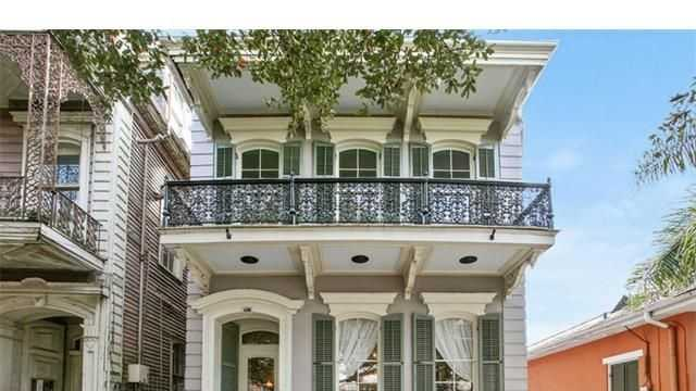 This week's Mansion Monday feature takes us to the edge of the French Quarter where a two-story home sits on Esplanade Avenue on the market for $2,375,000. Contact Gardner Realtors at 504-704-5422 for more information.