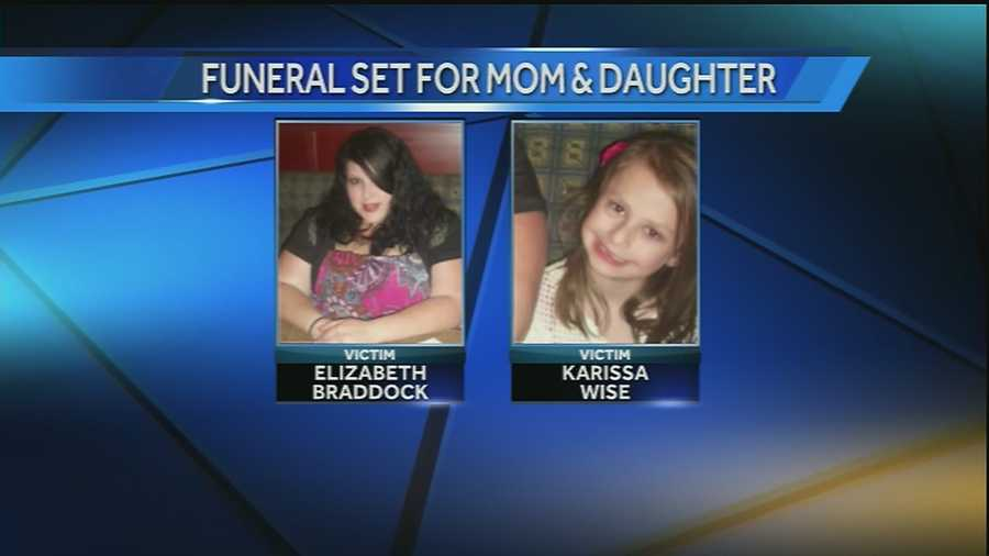 Friends and family will gather Thursday to remember Elizabeth Braddock and her daughter Karissa Wise