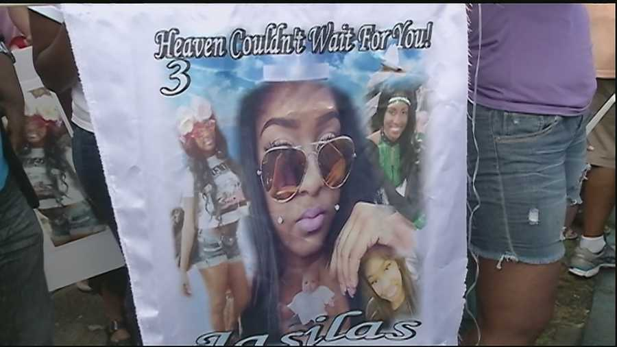 Family and friends gathered to remember Jasilas Wright Thursday night. Casey Ferrand reports.