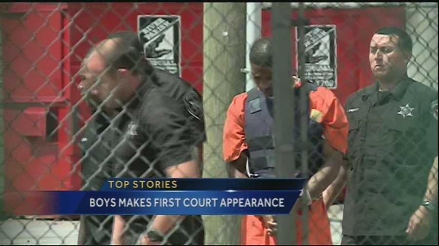 The suspect accused of shooting and killing a New Orleans police officer returned to court Tuesday morning.