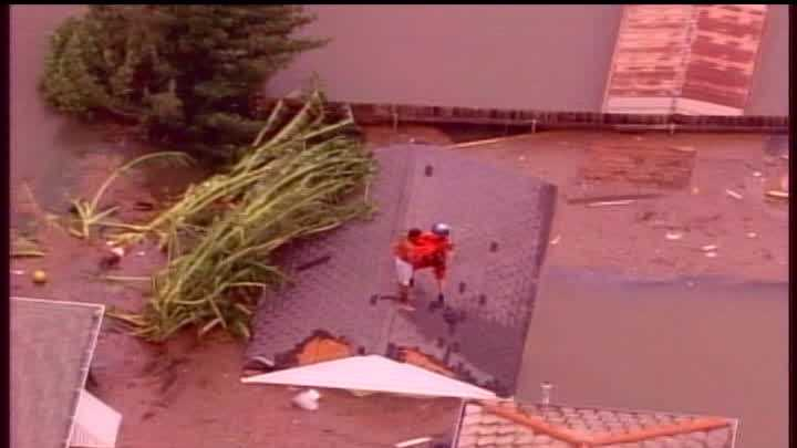 Watch video from WDSU's coverage of Hurricane Katrina