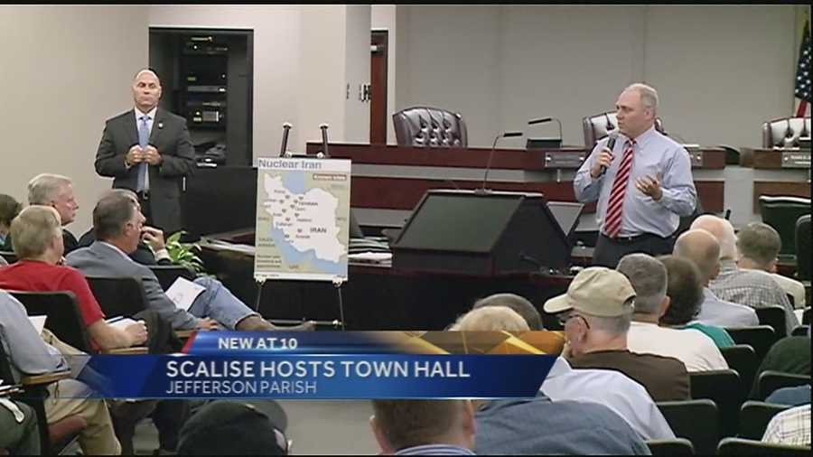 Congressman Steve Scalise hosted a town hall this week on the Iran nuclear deal.