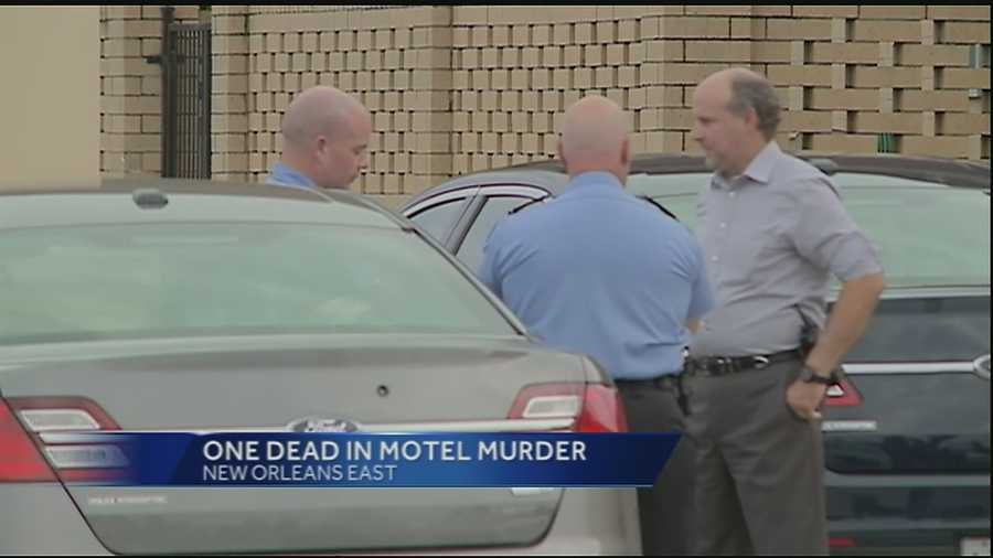 A man was found dead at a motel in New Orleans East, police said.