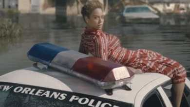 "A screen shot from the music video for ""Formation."""