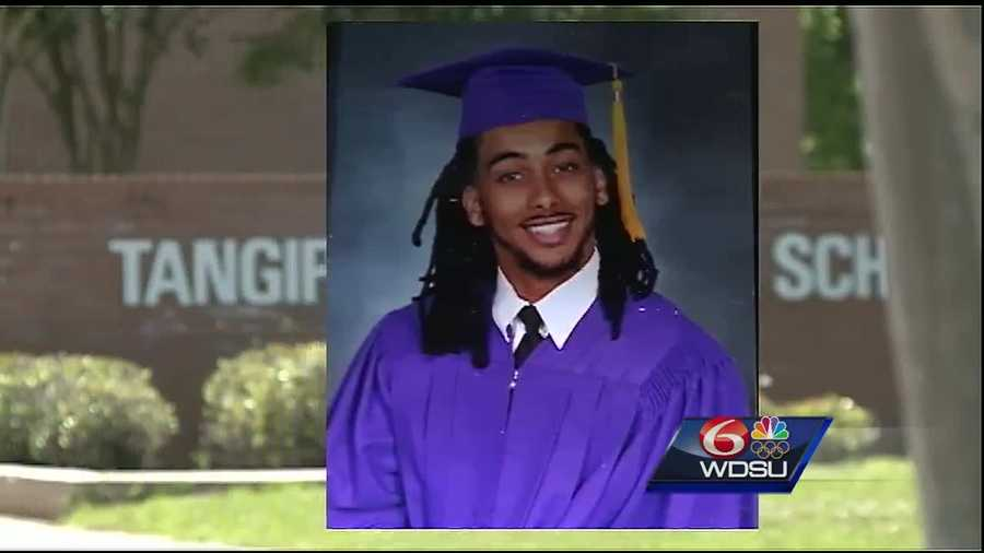 Andrew Jones was hoping to be on the receiving end of his high school diploma from Amite High School, but on graduation day last Wednesday, the future wide receiver for Southeastern Louisiana University says he wasn't allowed to march.