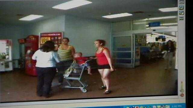 Video released of woman abandoning child at Walmart
