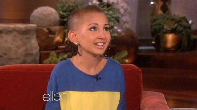 A local girl, Talia, is battling cancer, but she hasn't lost her passion for life and beauty.