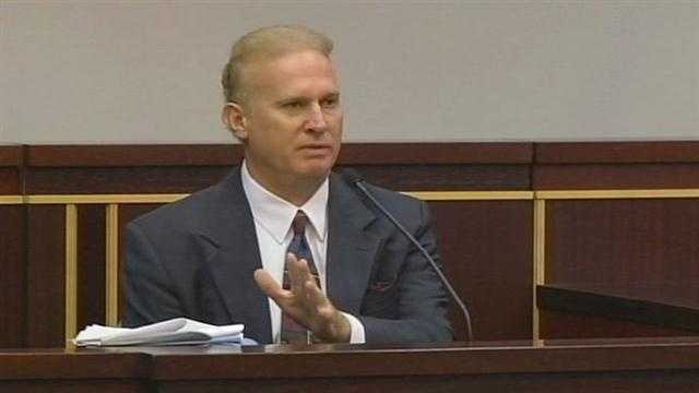 Scott Bush took the stand shortly before 11 a.m. Wednesday just before the defense rested in his molestation trial.