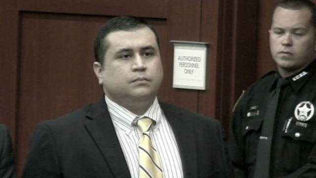 "George Zimmerman made his first public appearance in months Tuesday to waive his right to a ""Stand Your Ground"" hearing before his trial in June."
