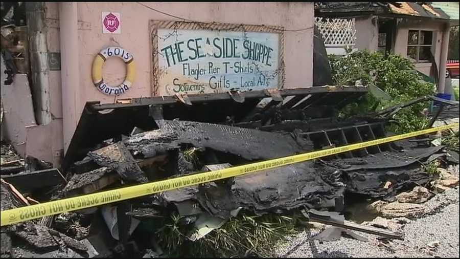 A woman's longtime business, and adjacent apartment, went up in flames overnight.