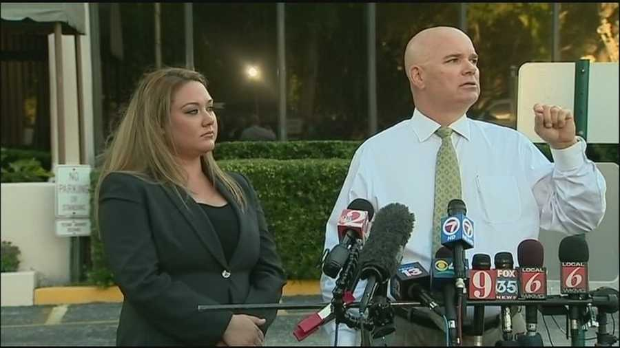 An attorney for George Zimmerman's wife spoke out Wednesday about the couple divorce and recent domestic dispute.
