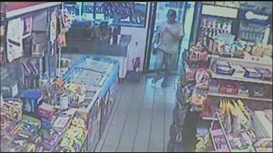 Orange County deputies are trying to locate a man wanted in connection to five Orlando-area armed robberies.