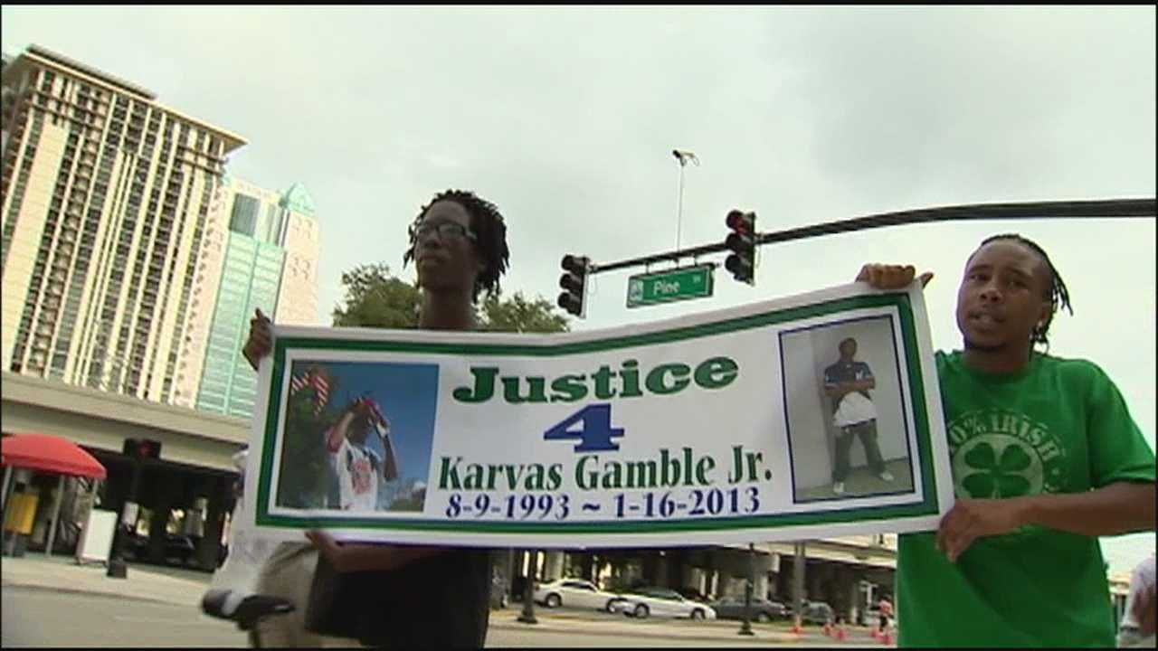 Family and friends of a 19-year-old man killed in a shooting in January are crying for justice.