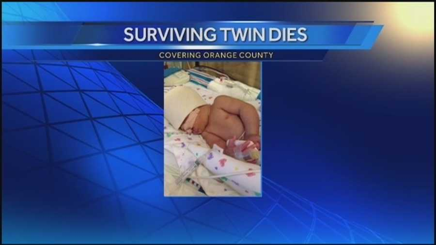 Deputies: Second twin baby dies days after mother shot dead by father