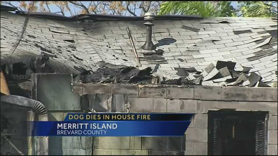 Home destroyed in Merritt Island fire