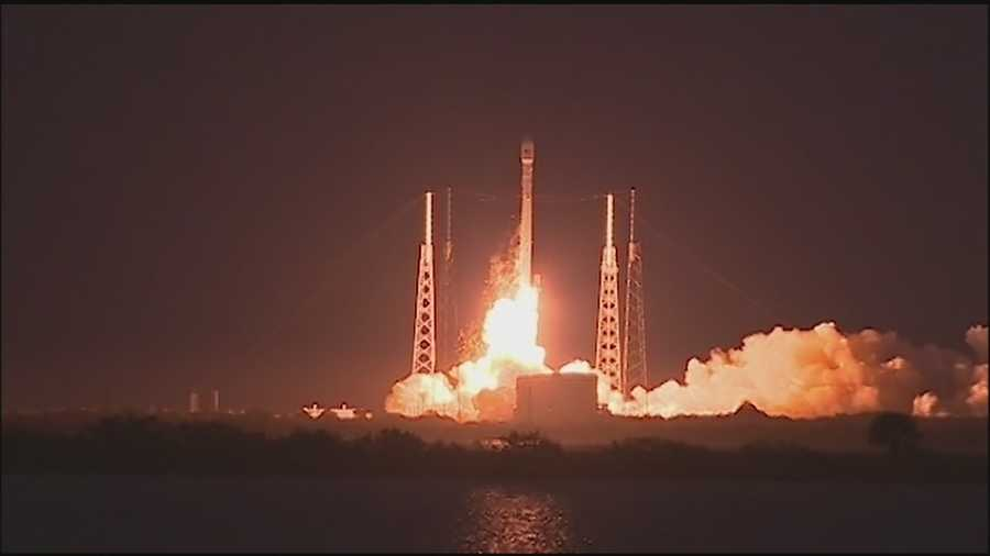 A SpaceX rocket is set to liftoff from Cape Canaveral on Monday. The Friday launch has been postponed.