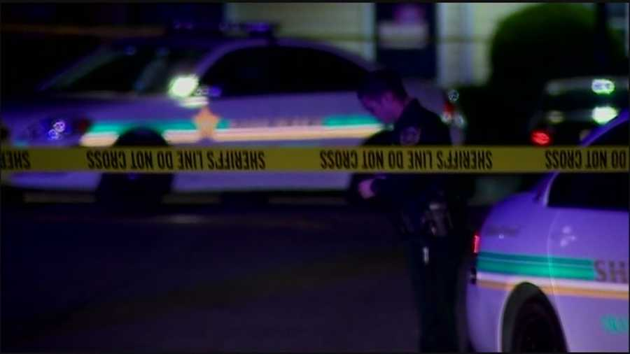 One person is dead and two others were injured in a drive-by shooting in Pine Hills on Sunday night.