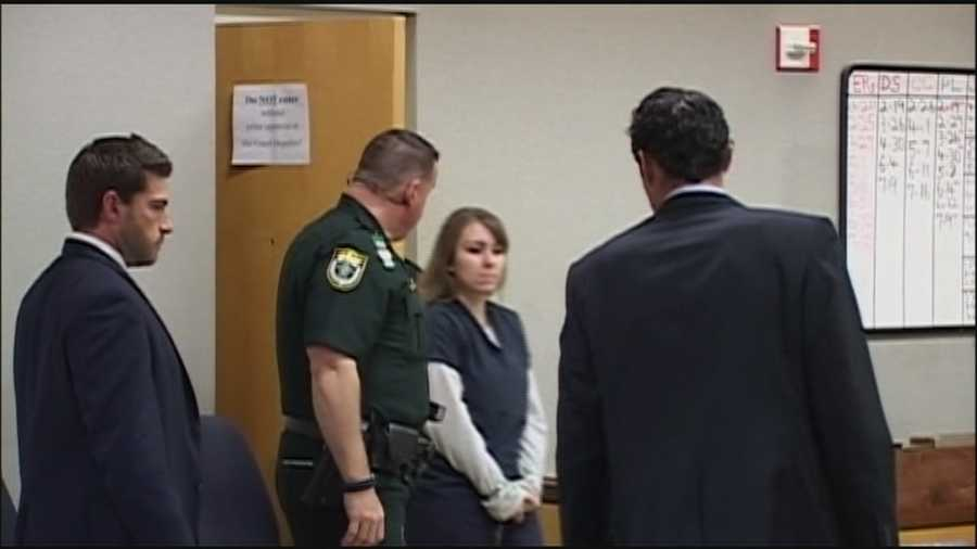 Andria Kerchner pleaded guilty to accessory after the fact to the first-degree murder of Brevard County Sheriff's Office Deputy Barbara Pill Thursday afternoon.