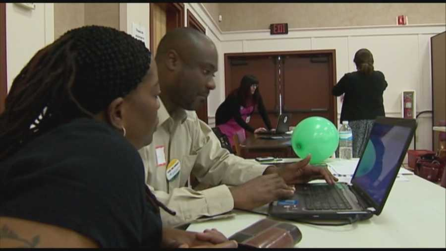 To get the word out there, organizers held a special outreach to the uninsured Sunday at Macedonia Missionary Baptist Church.