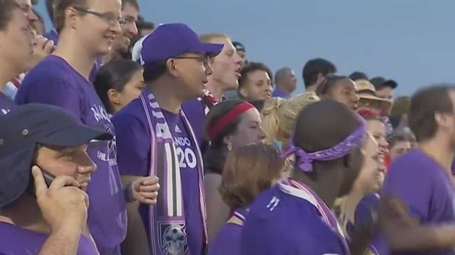 Orlando city released a statement saying it will not tolerate misbehavior and ban those fans from future matches.  Those new rules went in effect Saturday.