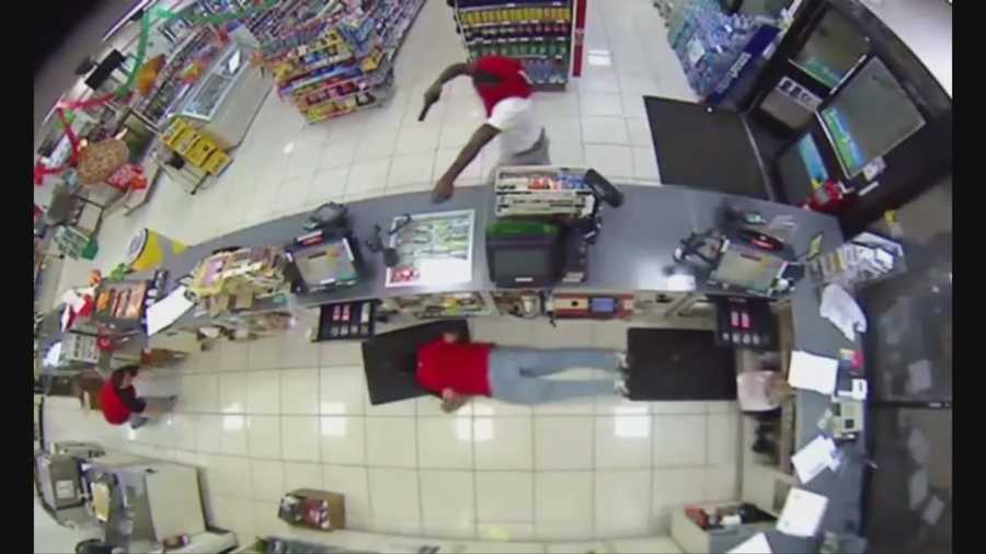 Five different store robberies in Orange County bear a striking resemblance, according to the Orange County Sheriff's Office.