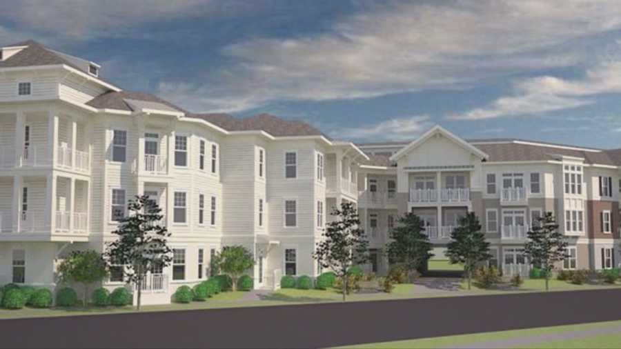 Opposition is mounting to a proposed five story apartment complex near the College Park business district on Edgewater Drive.