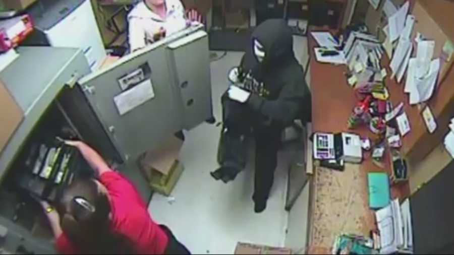 Police believe the two masked men who robbed a Winn-Dixie in Sanford on Tuesday may have robbed a Winn-Dixie in Deltona on Sept. 20.