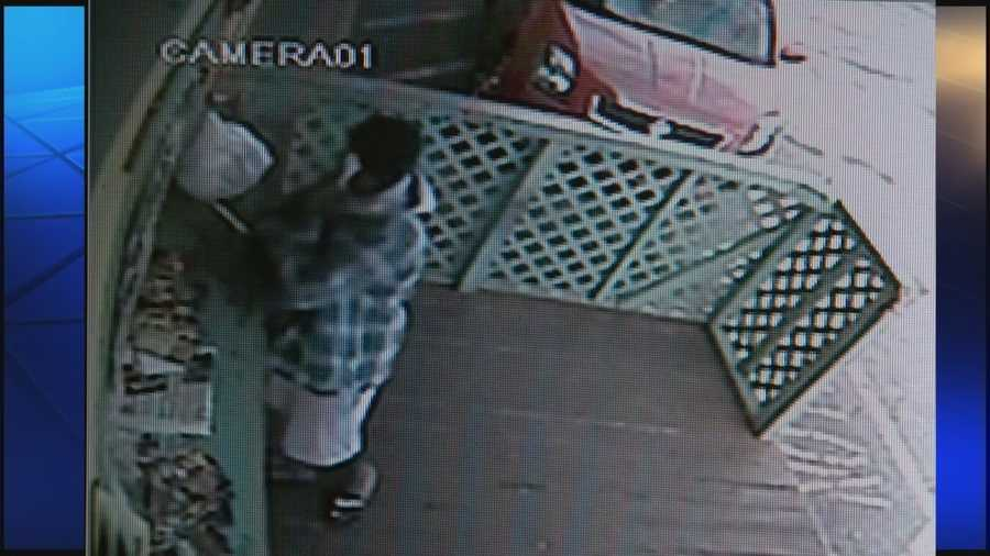 Surveillance video shows the shooting of a Central Florida restaurant owner. The woman who owns Leroy's Jamaican Cuisine was shot Thursday. She is expected to recover.