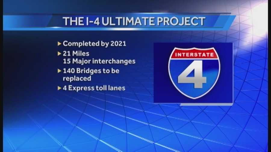 The Ultimate I-4 Project gets underway Sunday at midnight.