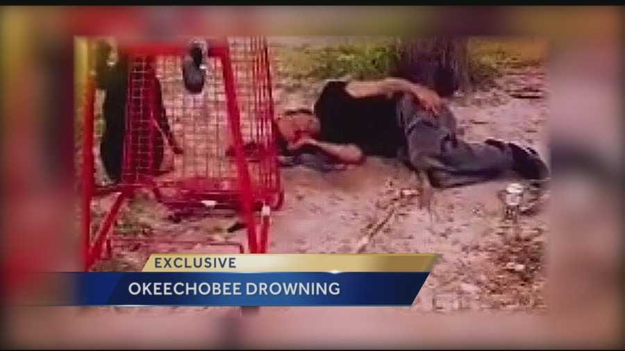 As a homeless man was drowning and yelling for help, police said his friend ignored his pleas and went to sleep. Rick Basnight, 40, and his dog were well-known in Okeechobee. Residents and law enforcement officers would regularly give Basnight clothes, shoes and food for his dog.