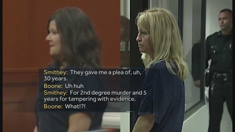 They both shot their husbands and formed a bond behind bars. Newly released jail recordings show the relationship between Anita Smithey and Kimberly Boone continued after their initial time in jail.